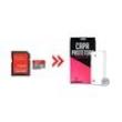 Cartão de Memória para LG L80 32Gb Ultra Classe 10 e Capa Transparente - Underbody