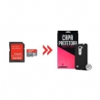 Cartão de Memória para LG Leon 16Gb Ultra Classe 10 e Capa Preta - Underbody