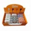 Display Fone de Ouvido com 12 Unidades - OEX Display Fone de Ouvido c / 12 Unidades - OEX 9376142