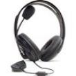 Fone De Ouvido Headset Para Xbox 360 Para Chat Online Preto