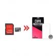 Cartão de Memória para Samsung Galaxy E7 32Gb e Capa Transparente - Underbody