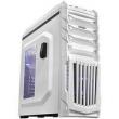 Gabinete Gamer Tiger Branco com 01 Cooler Frontal de 120mm Led Azul PCYes
