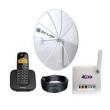Kit Internet Rural Alto Ganho 190cm 800 / 900Mhz