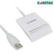 Leitor e Gravador de Cartão para Smartcard USB 2.0 - 9202 - Comtac 10052972