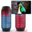 Caixa de Som Pulse Bluetooth Sem fio Radio FM 6w Entrada Usb Muda de cor Led Bateria Interna 6067112