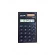 Calculadora De Bolso Básica Com Porcentagem 8 Dígitos Zeta Zt662Bk Preto