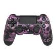Controle Sem Fio - PS4 - Funny Skulls Purple Edition - Alta Performance - GG Controles