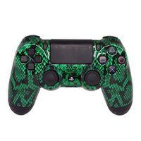 Controle Sem Fio - PS4 - Green Snake - Alta Performance - GG Controles
