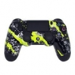 Controle Sem Fio - PS4 - Yellow Splatter - Alta Performance - GG Controles