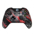 Controle Sem Fio - Xbox One - Red Splatter - Alta Performance - GG Controles