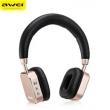 Fone De Ouvido Awei A900bl Dj Bluetooth Sem Fio 12h De Música - Dourado 11078456