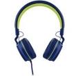 Headphone Pulse On Ear Stereo Azul / Verde - PH162