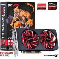 Placa De Video Amd Radeon R7 265 Hammer X Dual - Fan 2Gb Gddr5 256 Bits - Ph26525602D5Oc