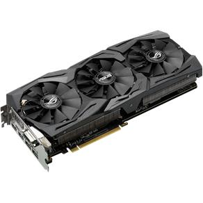 Placa De Vídeo Asus Rog Geforce Gtx 1080 Strix Advanced Edition