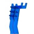 Suporte Para Headset / Headphone Em Acrilíco Azul