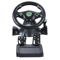 Volante Multilaser 4 Em 1 Para Xbox 360 Playstation 2 Playstation 3 E Pc Com Pedal E Marcha 10038323