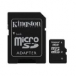 Cartão de Memória Kingston 8GB MicroSDHC Class 4 Flash Card Adaptador MicroSD SDC4 / 8GB 8581949