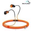 Fone De Ouvido P2 Sport Premium Laranja Ph135 - Multilaser 11090476