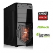 COMPUTADOR GAMER AMD QUAD CORE 5150 8GB DDR3 HD 500GB HD 6570 2GB 3GREEN TITAN