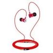 Fone de ouvido - ISK SEM5S IEM fones de ouvido vermelhos Preto