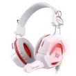 Fone de ouvido - Zhuo GS210 porque LOLCF fones de ouvido branco estilo red - head