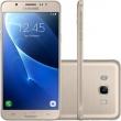 Smartphone Samsung Galaxy J7 Duos Metal Dourado com 16GB + Película de vidro + Capa de Brinde