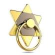 Suporte de celular - Telefone celular fivela anel de ouro hexa - Hao Telefone celular legal titular hex