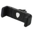 Suporte de celular veicular - PG Telefone carro preto com ar condicionado navegação ventilação