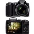Camera Digital Nikon Coolpix L340 20.2MP Zoom Óptico 28x 43MB Preto