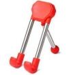 Suporte em pé ajustável para celulares ( Vermelho )