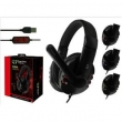 Fone Ouvido Headset Gamer Usb Microfone Pc Note Ps3