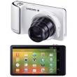 Samsung Galaxy Câmera Branca EK - GC100 com 16 MP, LCD 4.8 ´, Toushscreen, Andróid 4.1, Zoom Optico 21x, Vídeo HD e Voice Contro