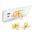 Suporte de celular - Comprehensive telefone tocar carro diamante fivela dourada tablet suporte titular