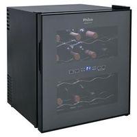 Adega de Vinhos Philco PH16E PR com Porta Espelhada e Controle Digital de Temperatura para 16 Garrafas - Preto 110V