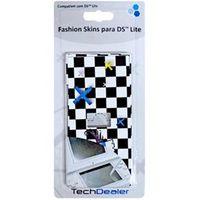 Adesivo Fashion Skins Tech Dealer 8168 Preto e Branco para Personalizar Nintendo DS