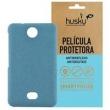 Capa + Película Fosca Asha 501 Policarbonato Textura Antigordura - Husky - Azul