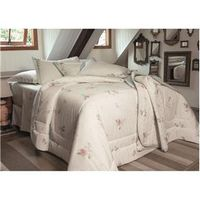 Kit Cobre - leito Queen Vida Bela Sensy 200 Fios com 2 Porta - Travesseiros - Kacyumara branco