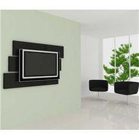 Painel Decorativo Multivisão com Suporte Mobile para TV até 46 ´ preto