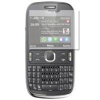 Película Protetora Nokia Asha 302 Protetora Anti - Reflexo e Anti - Digitais