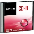 Cd - r Slim Case 80 Min 700mb 48x Cdq80ss Sony
