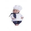 Boneca Cozi Cook Mini Chef 203 - Bambola