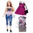 Boneca Barbie Fashionistas com Acessórios Fashion - Dtf00