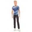 Boneco Ken Mattel Fashionistas - Camiseta e Calça