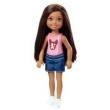 Mini Boneca - Família Da Barbie - Chelsea Club - Negra - Mattel