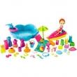 Super Conjunto Diversão Na Praia Polly Pocket - Mattel