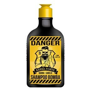 Barba Forte Danger - Shampoo Bomba - 170ml