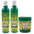 Boé Crece Pelo Kit Shampoo 370ml, Condicionador 370ml e Máscara de Tratamento 240g