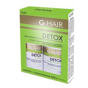 G. Hair Kit Shampoo e Condicionador DETOX - 2x250ml