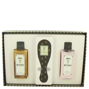 Juicy Crittoure Caixa de presente ou Kit 236 ML de Shampoo + 236 ML Condicionador + Escova Kit Feminino - Juicy Couture