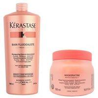 Kerastase Discipline Duo Kit Shampoo Bain Fluidealiste ( 1000ml ) e Maskeratine ( 500ml )